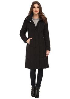Calvin Klein Long Down Coat w/ Untrimmed Hood