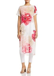 Calvin Klein Long Floral Print Tunic