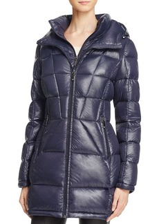 Calvin Klein Long Hooded Down Coat