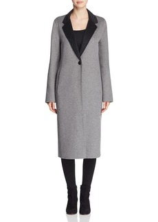 Calvin Klein Long One-Button Coat