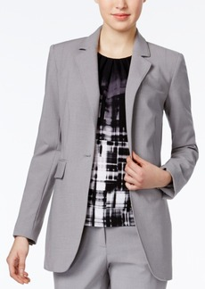 Calvin Klein Long Single-Button Blazer