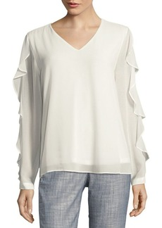 Calvin Klein Long-Sleeve Blouse