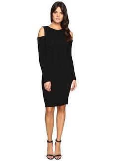 Calvin Klein Long Sleeve Cold Shoulder Dress