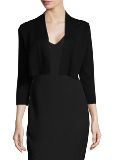 Calvin Klein Long Sleeve Cropped Cardigan