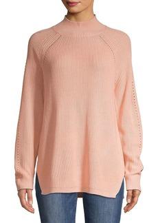 Calvin Klein Long-Sleeve Mockneck Sweater