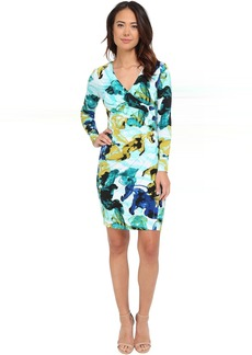 Calvin Klein Long Sleeve Printed Dress CD5AER5N