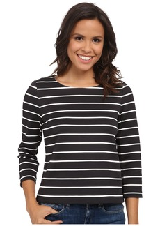 Calvin Klein Long Sleeve Striped Top