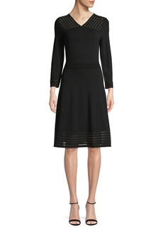 Calvin Klein Long-Sleeve Sweater Dress