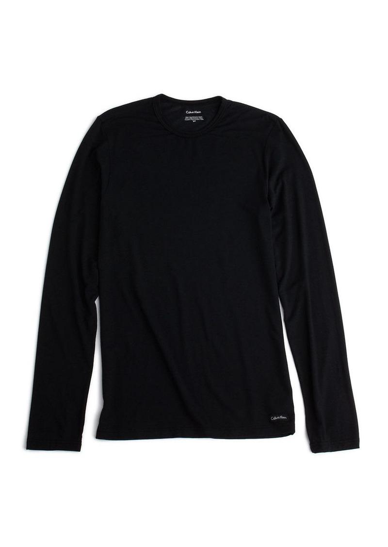 CALVIN KLEIN Long-Sleeved Crewneck T-Shirt