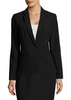 CALVIN KLEIN Long Sleeved One-Button Jacket