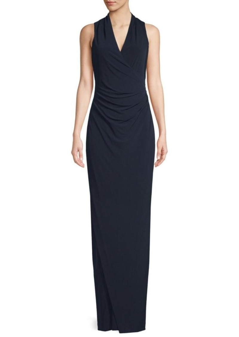Calvin Klein Ruched Column Dress