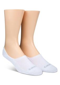 Calvin Klein Low Cut Cushion Sole Socks, Pack of 2