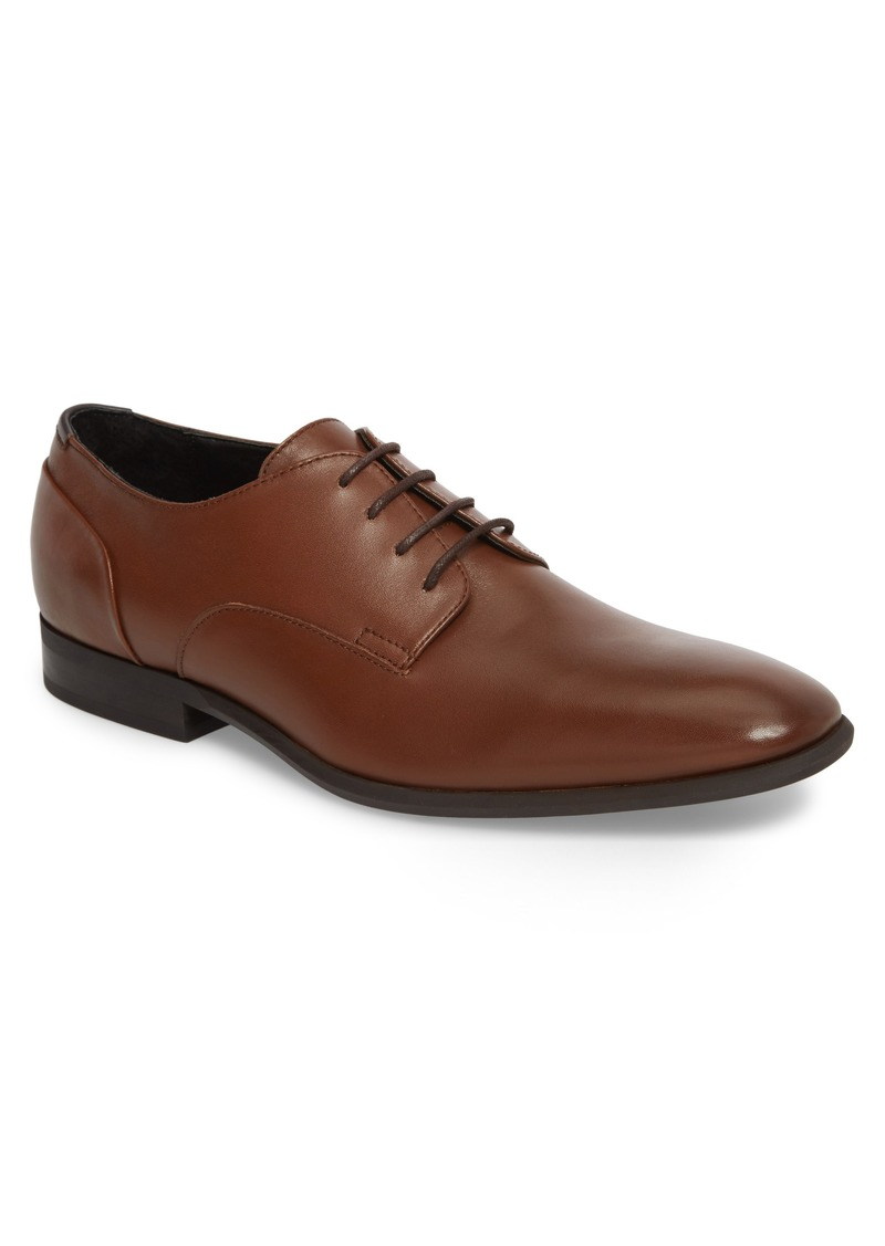 Calvin Klein Lucca Plain Toe Derby (Men)