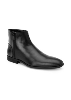 Calvin Klein Luciano Leather Booties