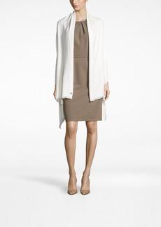 Calvin Klein Lurex Twill Evening Wrap