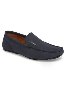 Calvin Klein Manny Textured Driving Loafer (Men)