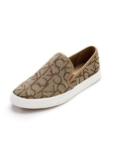 "Calvin Klein ""Marren"" Slip-On Logo Sneakers"