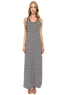 Calvin Klein Maxi Dress with Razor Back CD4A8HER