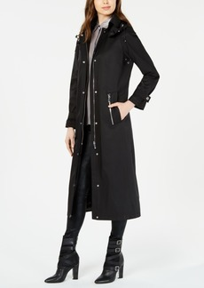 Calvin Klein Maxi Hooded Raincoat