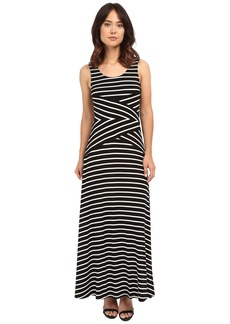 Calvin Klein Maxi Stripe Dress