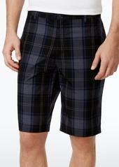 "Calvin Klein Men's Regular-Fit Plaid 10.5"" Shorts"