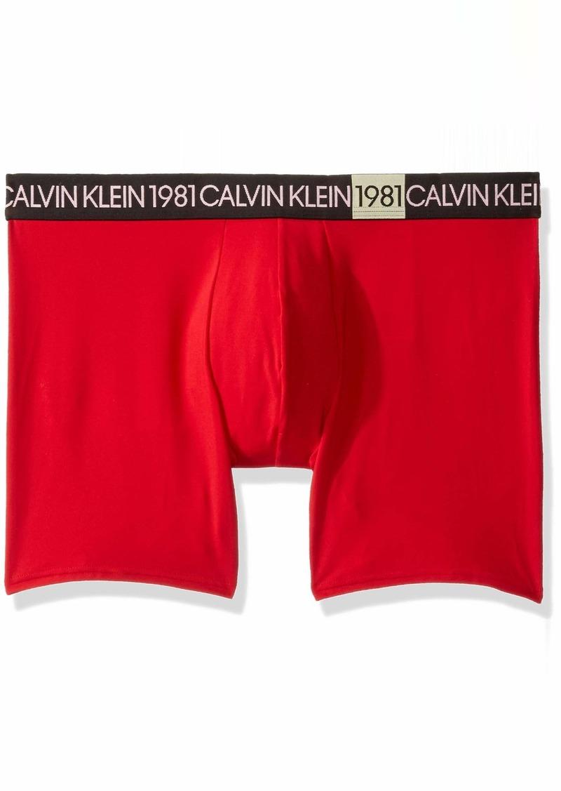 Calvin Klein Men's 1981 Bold Micro Boxer Briefs  M
