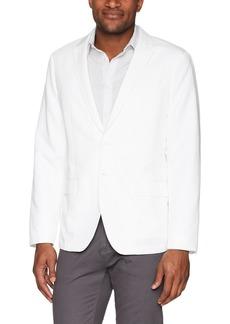 Calvin Klein Men's 2 Button Linen Blazer Sportscoat  S
