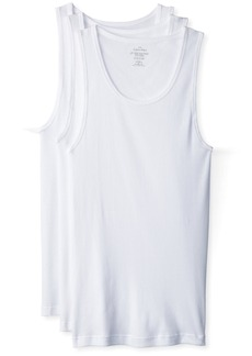 Calvin Klein Men's 3 Pack Basic Tank Top