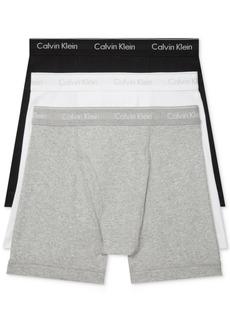 Calvin Klein Men's 3-Pack Cotton Classics Boxer Briefs