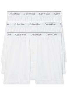 Calvin Klein Men's 3-Pack Cotton Classics Knit Boxers