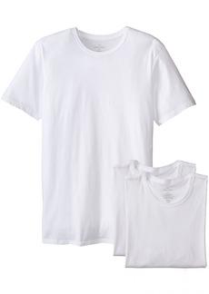 Calvin Klein Men's Undershirts Cotton Classics 3 Pack Slim Fit Crew Neck Tshirts
