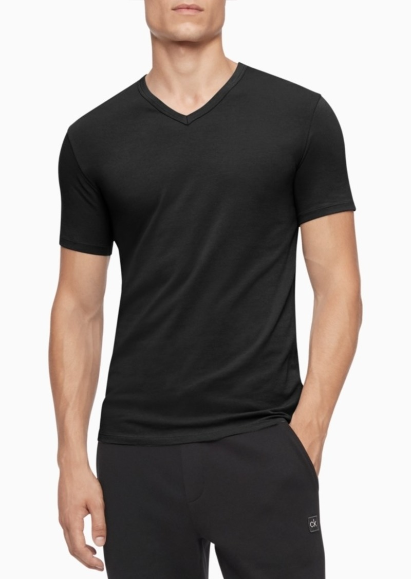 Calvin Klein Men's 3-Pack Cotton Stretch V-Neck T-Shirts