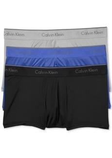 Calvin Klein Men's Microfiber Stretch Trunk 3-Pack
