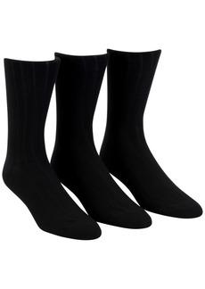 Calvin Klein Men's 3-Pack Soft Touch Ribbed Socks