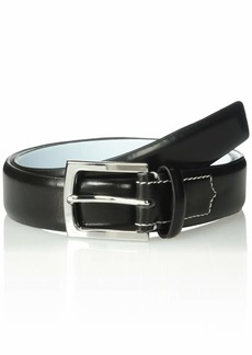 Calvin Klein Men's 32mm Spazzolato Leather Belt black