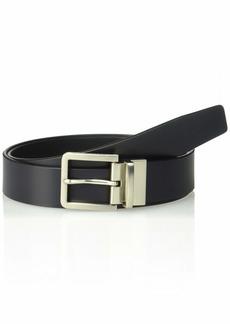 Calvin Klein Men's 35mm Reversible Leather Belt