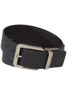 Calvin Klein Men's 38mm Feather Edge Semi Shine Belt Black/Brown