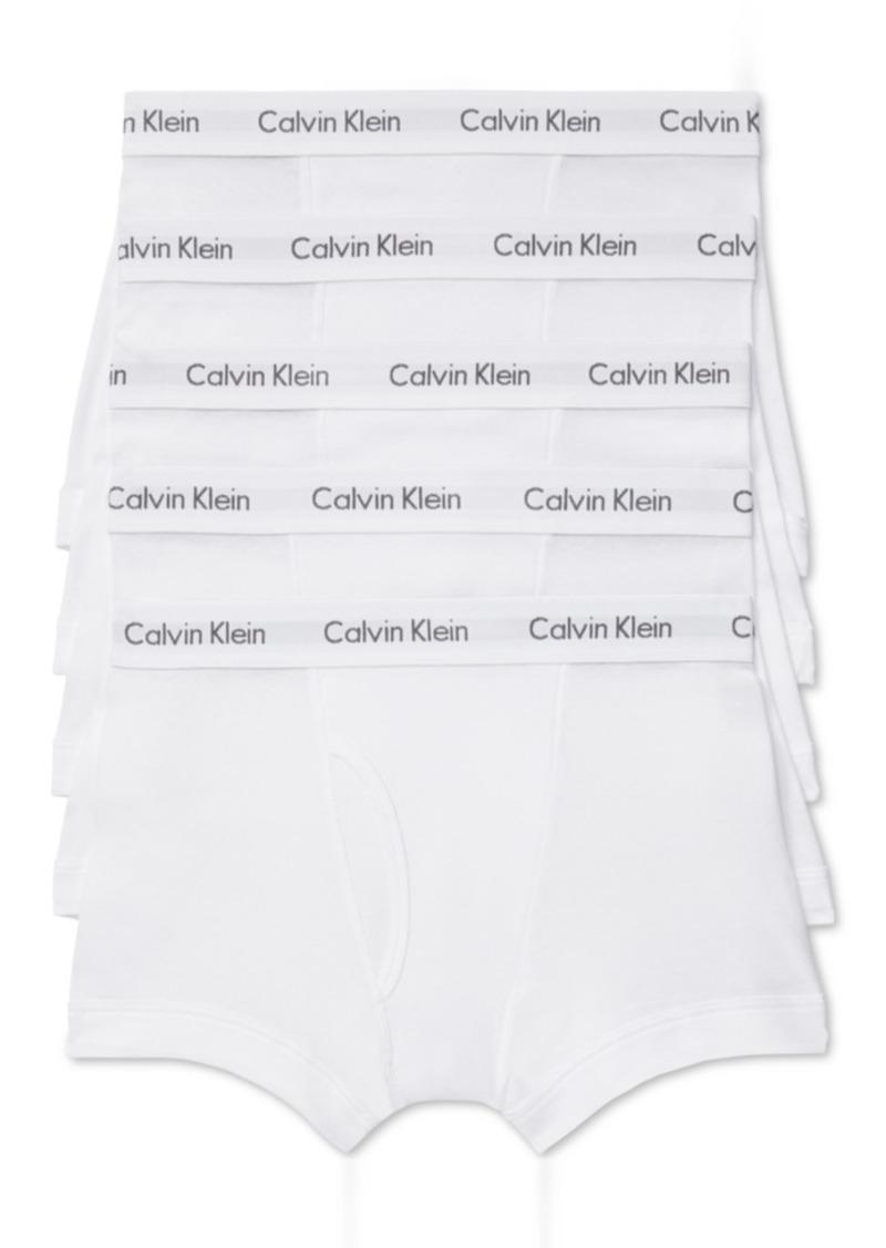 Calvin Klein Men's 5-Pk. Cotton Classic Trunks