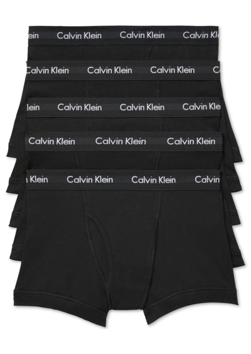 Calvin Klein Men's 5-Pk. Cotton Classic Trunks