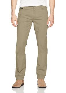 Calvin Klein Men's 5 Pocket Stretch Cotton Twill Pants  33W 30L