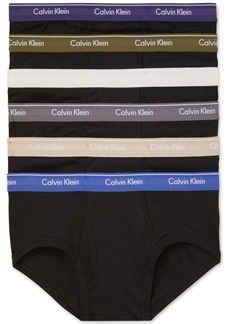 Calvin Klein Men's 6-Pk. Cotton Classics Cotton Briefs