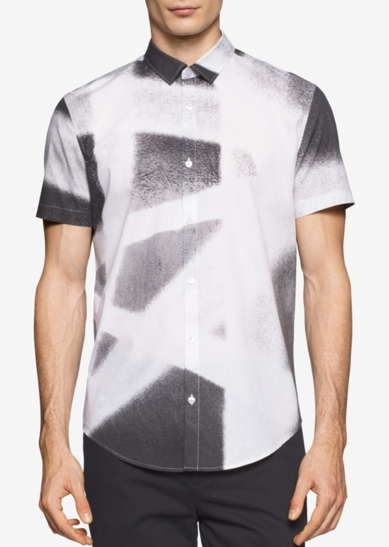 Calvin Klein Men's American Icon Print Short-Sleeve Shirt