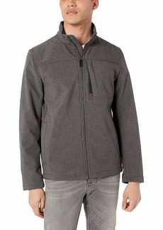 Calvin Klein Men's Angle Placket Soft Shell Jacket  M