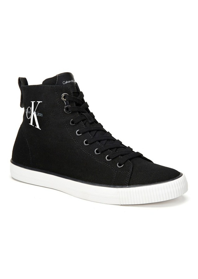calvin klein calvin klein men 39 s arthur high top sneakers shoes shop it to me. Black Bedroom Furniture Sets. Home Design Ideas