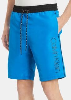 "Calvin Klein Men's Athleisure Regular-Fit 9-3/4"" Techy Shorts"