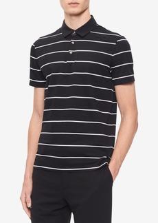 Calvin Klein Men's Auto Stripe Jacquard Polo