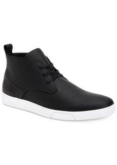 Calvin Klein Men's Bain Saffiano Chukka Boots Men's Shoes