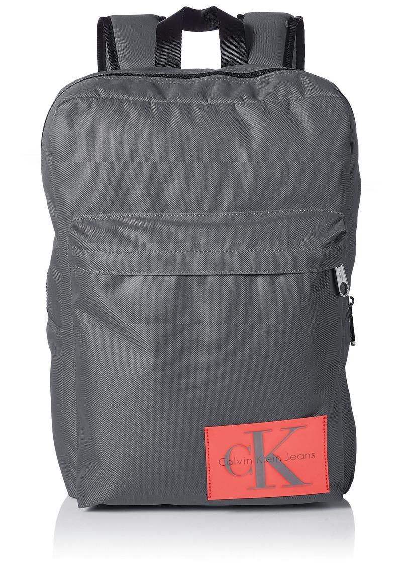 Calvin Klein Men's Ballistic Nylon Slim Square Backpack  NO Size
