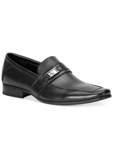 Calvin Klein Men's Bartley Bit Textured Loafers Men's Shoes
