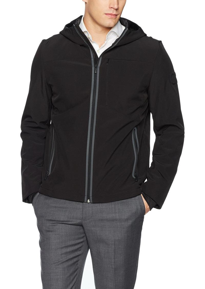 Calvin Klein Men's Full Zip Baseball Jacket Black